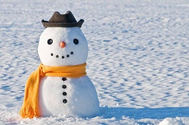 rüyada kardan adam yapmak